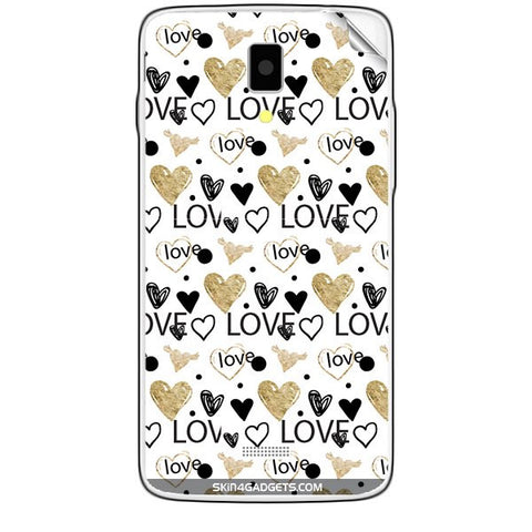 Heart and Love Doodle For KARBONN TITANIUM S5  Skin