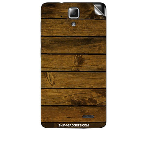 Brown Wooden Planks For LENOVO A536 Skin