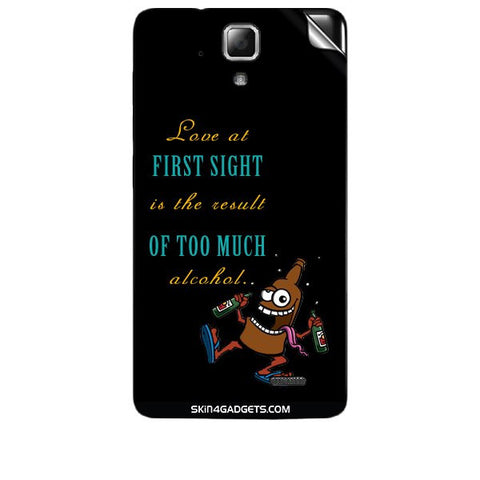Love at first sight is the result of too much alcohol For LENOVO A536 Skin