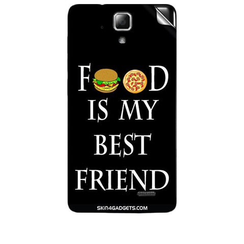 Food is my best friend For LENOVO A536 Skin