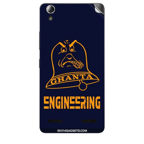 Ghanta Engineering  For LENOVO A6000 PLUS Skin