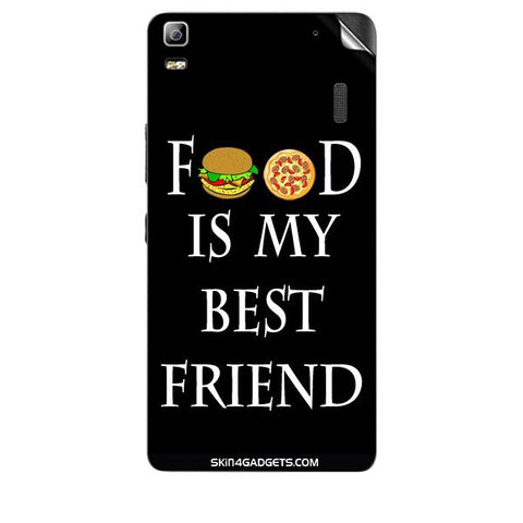 Food is my best friend For LENOVO A7000 Skin
