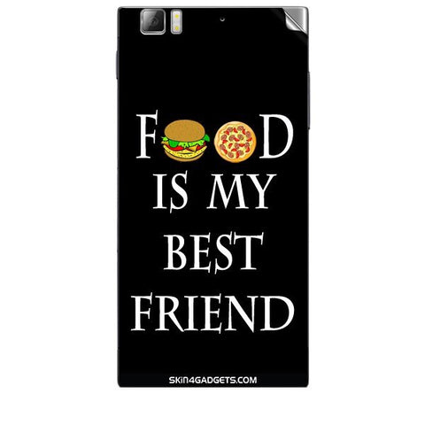 Food is my best friend For LENOVO K900 Skin