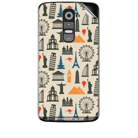 Wonders of the World For LG G2 Skin