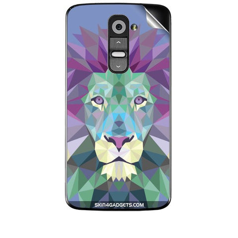 Magestic Lion For LG G2 Skin