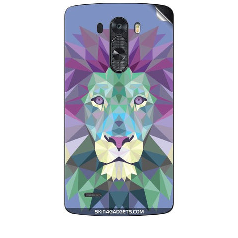 Magestic Lion For LG G3 (D851,855,830) Skin