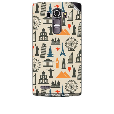 Wonders of the World For LG G4 Skin