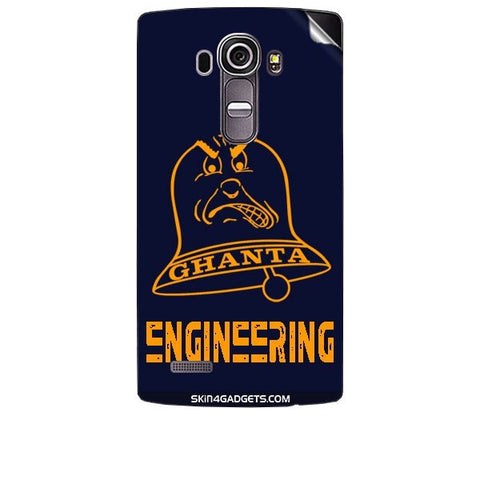 Ghanta Engineering  For LG G4 Skin