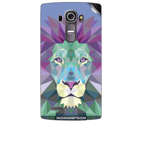 Magestic Lion For LG G4 Skin