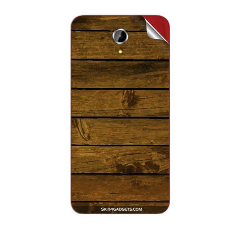 Brown Wooden Planks For PANASONIC T41 Skin