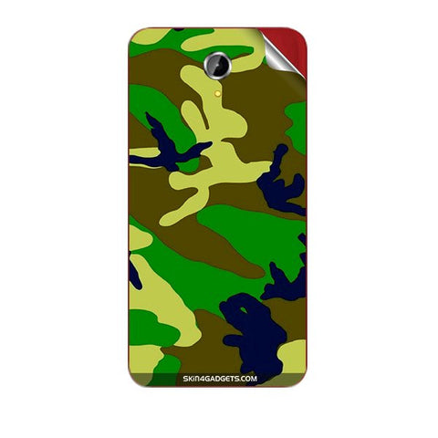 Camouflage - Green For PANASONIC T41 Skin
