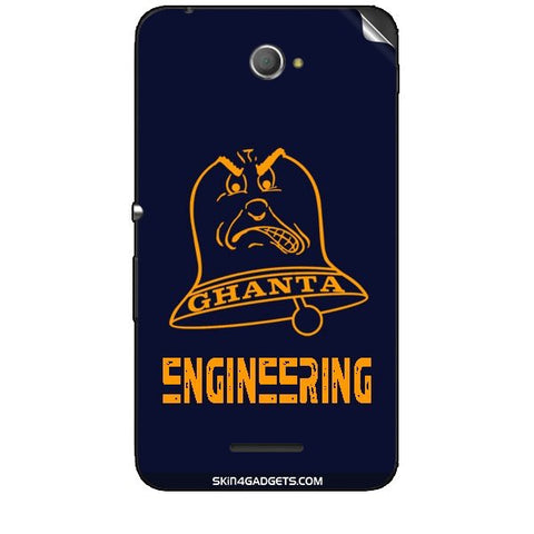 Ghanta Engineering  For SONY XPERIA E4 Duo Skin