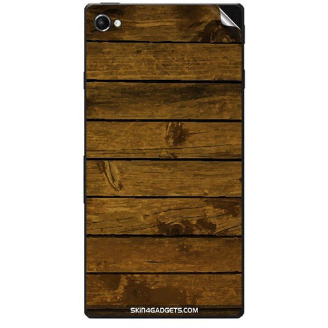 Brown Wooden Planks For SONY XPERIA C3 DUAL  (s55t) Skin