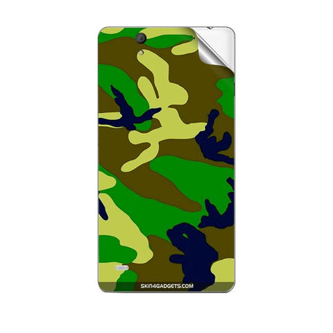 Camouflage - Green For SONY XPERIA C4 Skin