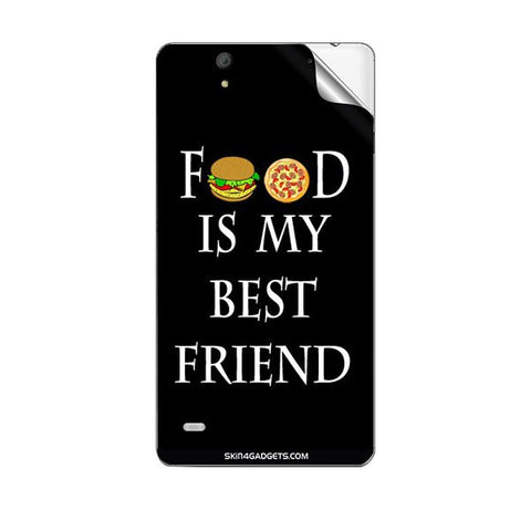 Food is my best friend For SONY XPERIA C4 Skin
