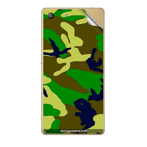 Camouflage - Green For SONY XPERIA Z5 DUAL Skin