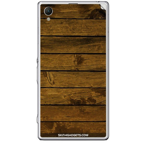 Brown Wooden Planks For SONY XPERIA Z1 COMPACT (M51w) Skin