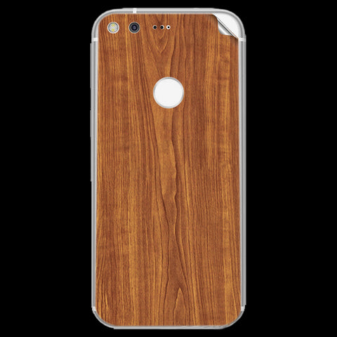 google pixel xl Wooden Texture Skin Sticker