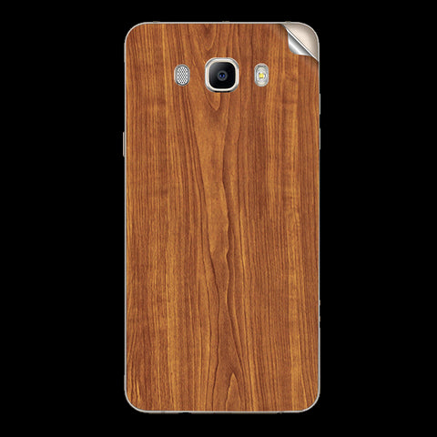 Samsung Galaxy j7 2016 Wooden Texture Skin Sticker