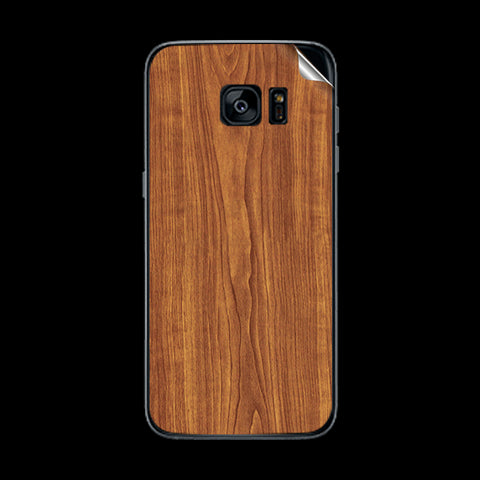 Samsung Galaxy S7 Edge Wooden Texture Skin Sticker