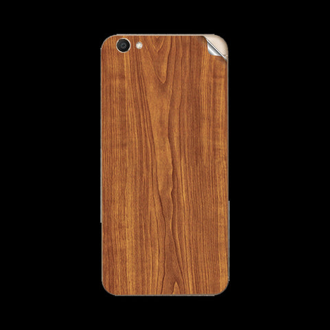 Vivo V5 Wooden Texture Skin Sticker