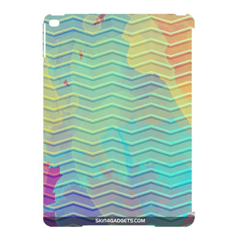 Colourful Waves For APPLE IPAD AIR2 Designer CASE