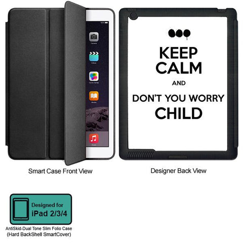 Universal Music Officially Licensed Swedish House Mafia -Don't You Worry Child #2 Tablet Designer BLACK SMART CASE for APPLE IPAD 2,IPAD 3,IPAD 4,
