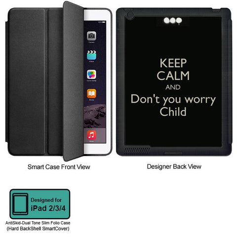 Universal Music Officially Licensed Swedish House Mafia -Don't You Worry Child #4 Tablet Designer BLACK SMART CASE for APPLE IPAD 2,IPAD 3,IPAD 4,