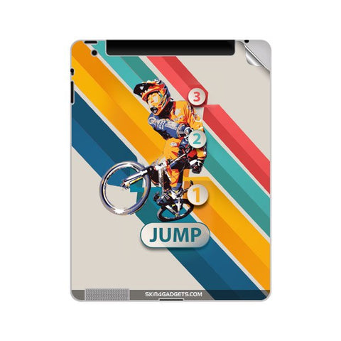 1 2 3 Jump For APPLE IPAD 3 Skin