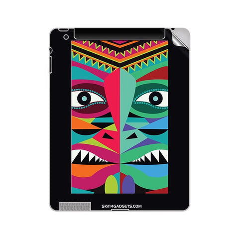 Tribal Face For APPLE IPAD 4 Skin