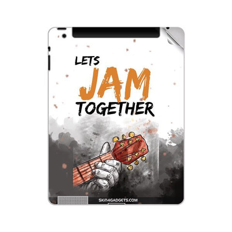 Lets Jam Together For APPLE IPAD 4 Skin