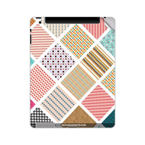 Varied Pattern For APPLE IPAD 4 Skin