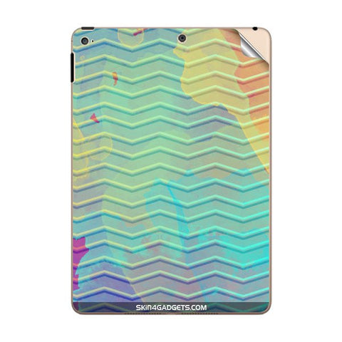 Colourful Waves For APPLE IPAD AIR2 Skin