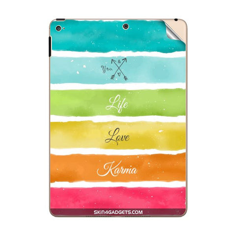 Lets Love Life For APPLE IPAD AIR2 Skin