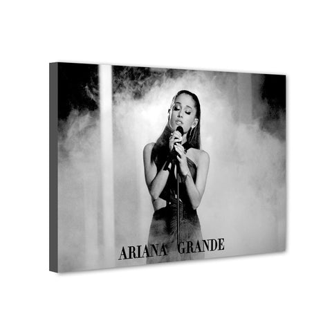 Universal Music Officially Licensed Ariana Grande Canvas Stretched on 1 Wooden Frame Style#12 - skin4gadgets
