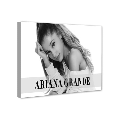 Universal Music Officially Licensed Ariana Grande Canvas Stretched on 1 Wooden Frame Style#6 - skin4gadgets