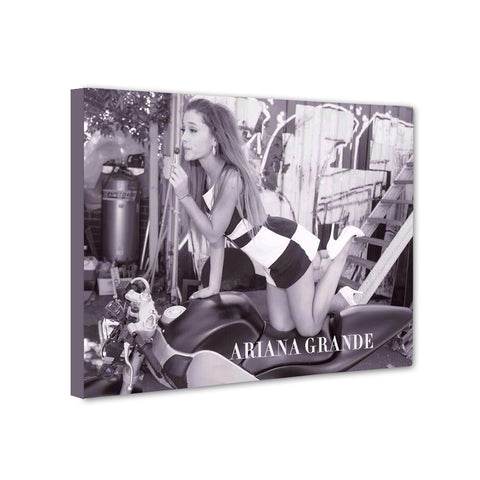 Universal Music Officially Licensed Ariana Grande Canvas Stretched on 1 Wooden Frame Style#9 - skin4gadgets