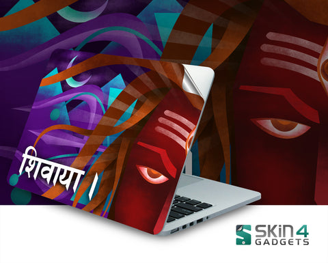 Shivaya laptop skin for 14 inch laptop