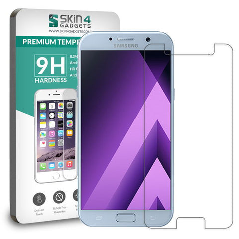 Samsung Galaxy A5 2017 tempered glass Screen protector Pack of 2 - skin4gadgets