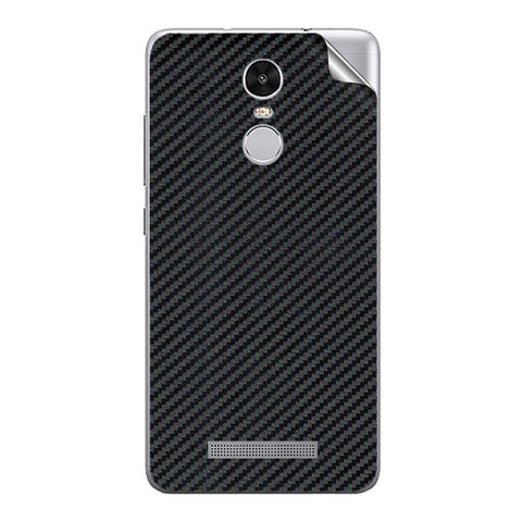 Black Carbon Fiber Texture For Xiaomi Redmi Note 3 Skin/Sticker