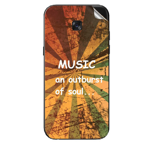An outdurst of soul is music For Redmi note 4  Skin