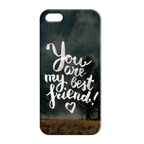 iPhone 5 friend forever case
