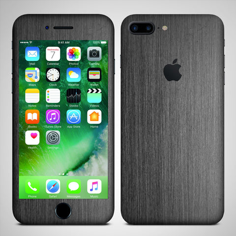 Apple iphone 7 plus black matte skin sticker