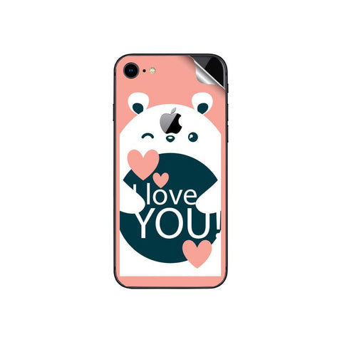 I love you For APPLE IPHONE 8  Skin