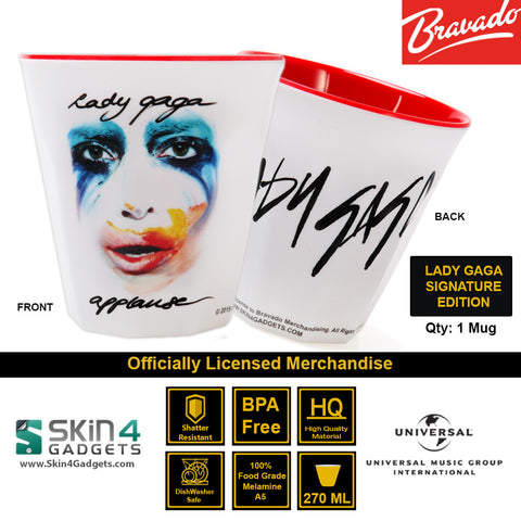 Universal Music/ Bravado Officially Licensed MerchandiseArtist: Lady Gaga Applause Autograph Edition