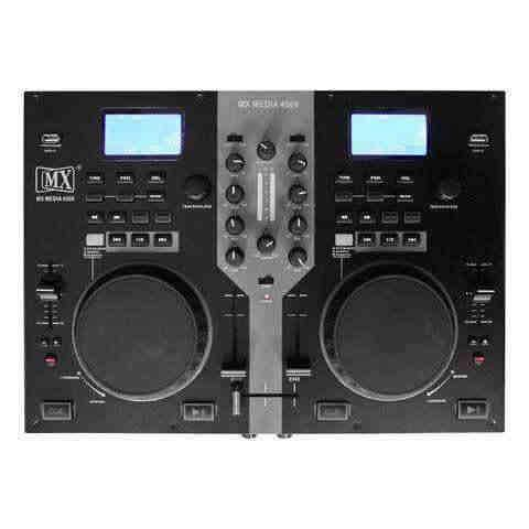MX DJ PLAYERS AND CONTROLLERS MX MEDIA 4500