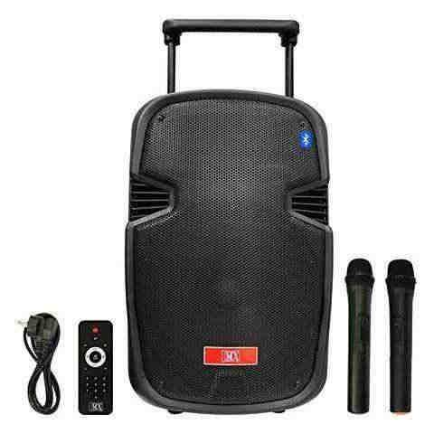 MX 15 inch Portable Multimedia Trolley Speaker MX 3715