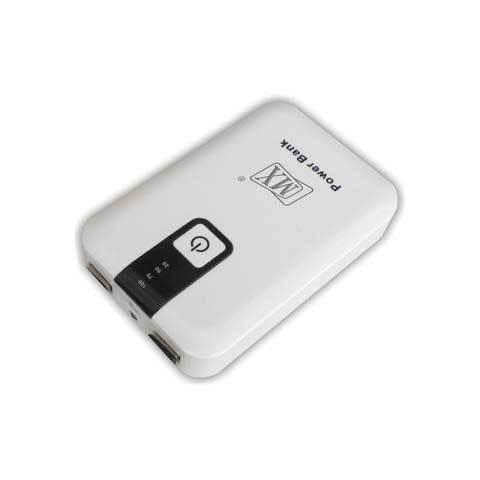 MX POWER BANK FOR CHARGING MOBILE PHONES & TABLETS : 8800mAH