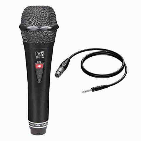 MX Vocal Dynamic Wired Microphone (HT1103)