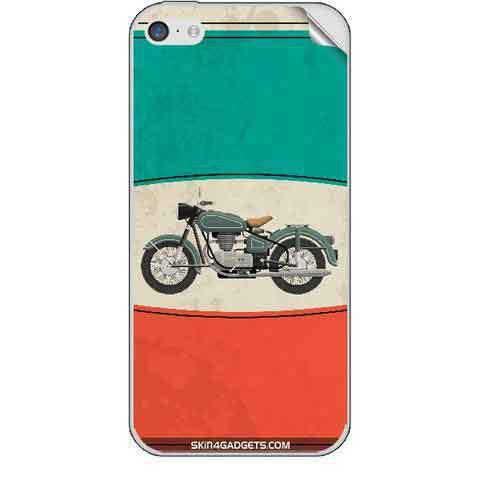 Royal Heritage Bike For APPLE IPHONE 5C Skin